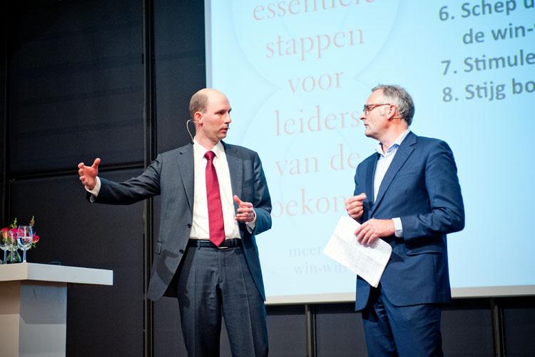 Michael Jongeneel met Jeroen Smit